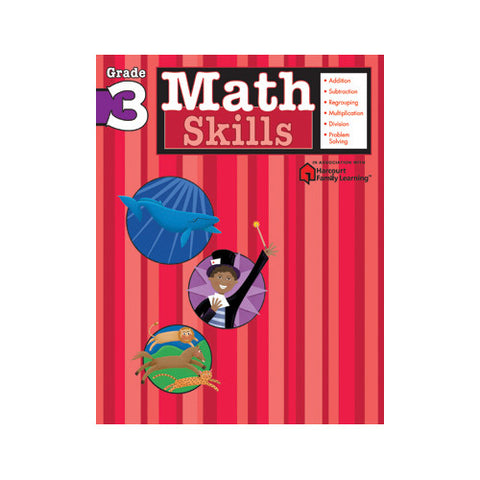Harcourt Math Skills Grade 3 Workbook