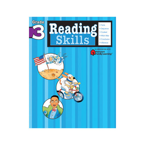Harcourt Reading Skills Grade 3 Workbook
