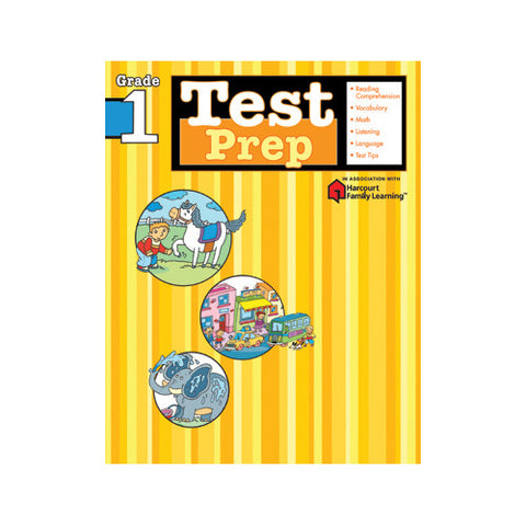 Harcourt Test Prep Grade 1 Workbook
