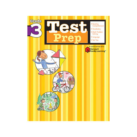 Harcourt Test Prep Grade 3 Workbook