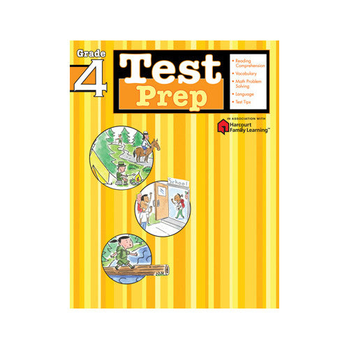Harcourt Test Prep Grade 4 Workbook