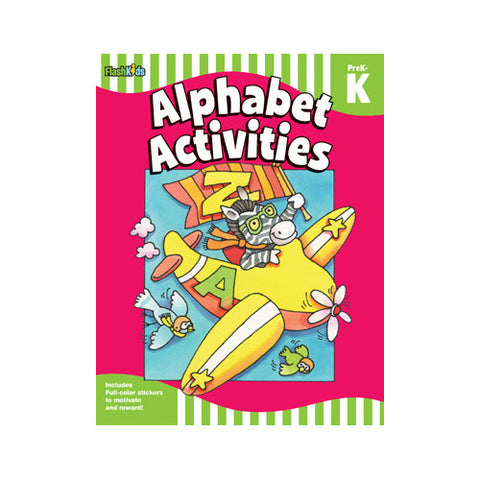 Flash Kids Prek-K Alphabet Activities