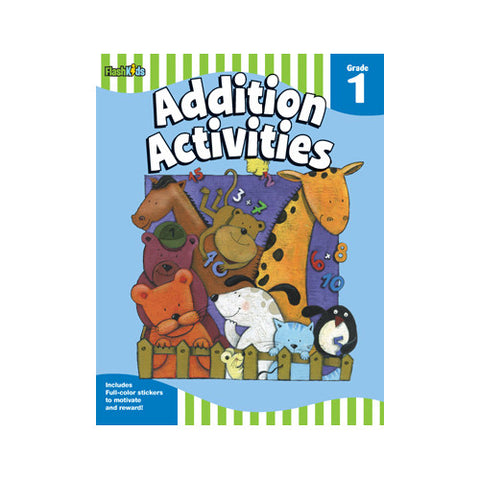 Flash Kids Grade 1 Addition Activities