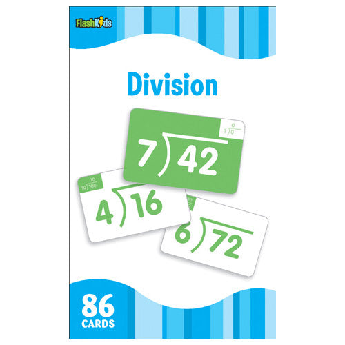 Flash Kids Division Flash Cards
