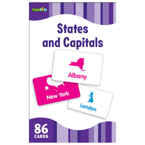 Flash Kids States & Capitols Flash Cards