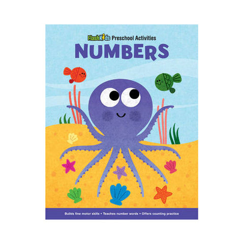 Flash Kids Numbers Paper