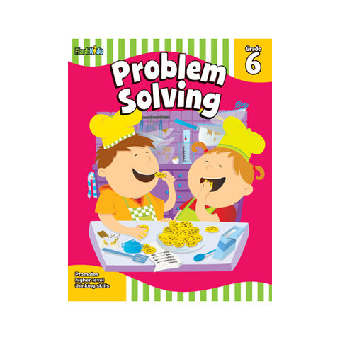 Flash Kids Problem Solving Grade 6
