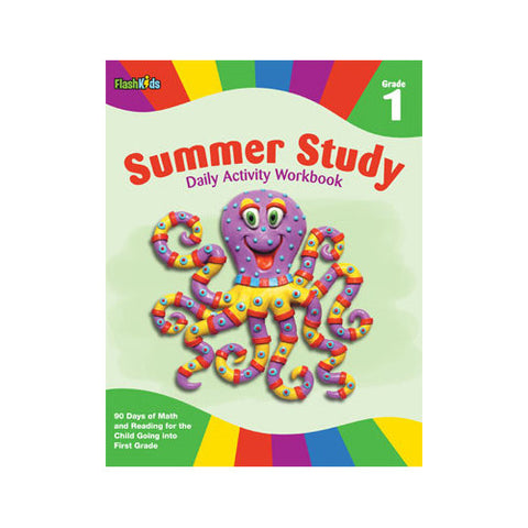 Flash Kids Summer Study Daily Grade 1