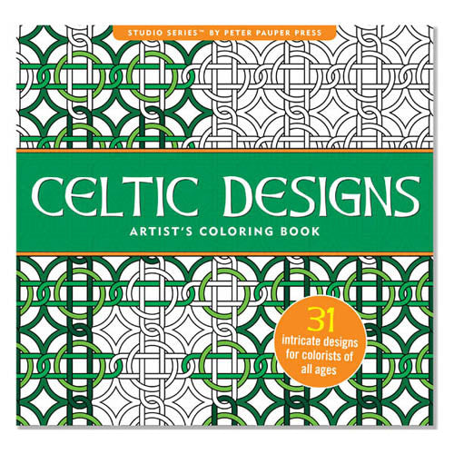 Peter Pauper Coloring Celtic Designs