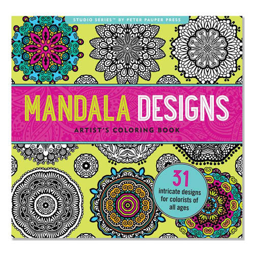 Peter Pauper Coloring Mandala Designs