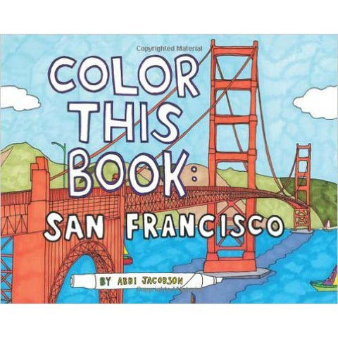Chronicle Books San Francisco Color Book