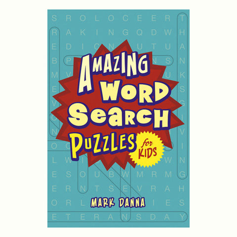 Sterling Amazing Word Search for Kids