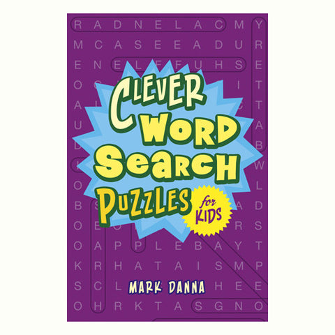 Sterling Clever Word Search for Kids
