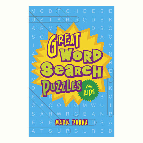 Sterling Great Word Searches for Kids
