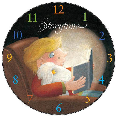 Chronicle Storytime Clock