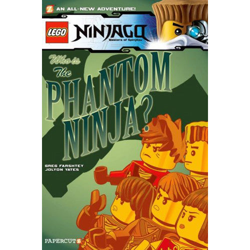 MacMillan Lego Ninjago #10 The Phantom