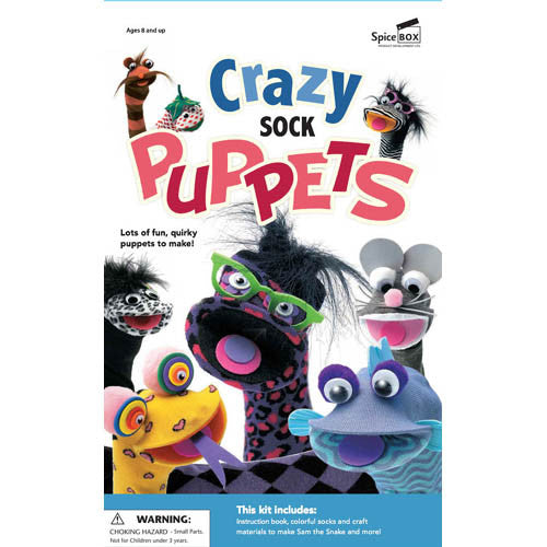 Crazy Sock Puppets