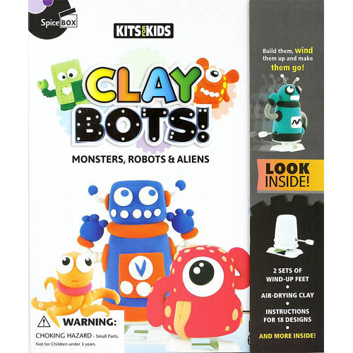 Clay Bots Monster, Robots & Aliens