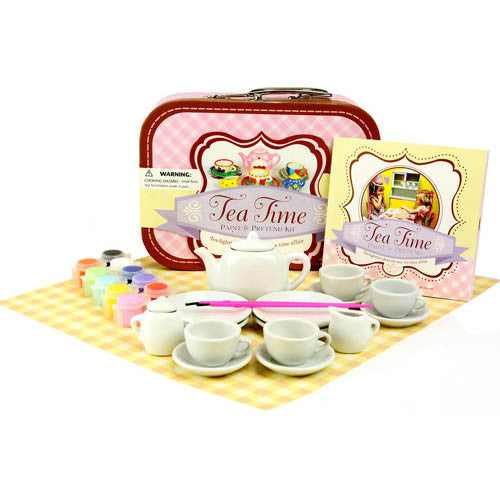 Tea Time Paint & Pretend Kit