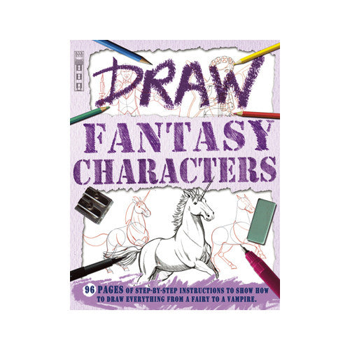 Sterling Draw Fantasy Characters
