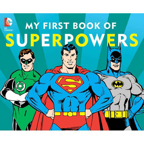 Simon DC My First Book of Super Powers