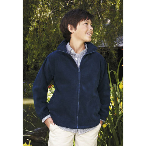 Landway Kids Newport Full Zip Fleece Navy Small