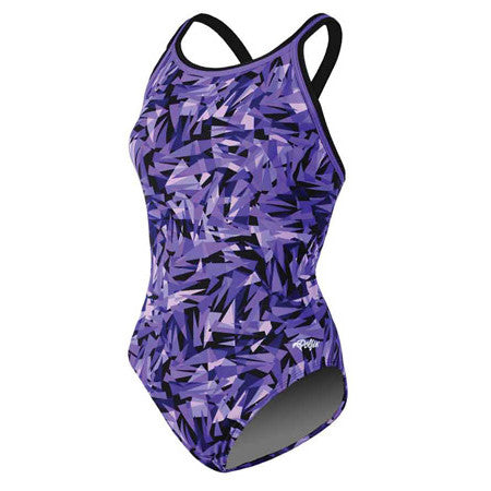 Dolfin Crackle DBX Back Crackle Purple 32