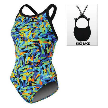 Dolfin Crackle DBX Back Crackle Multi 30