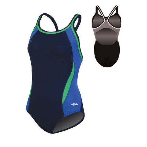 Dolfin Team Panel Poly Nvy Bu Grn 40