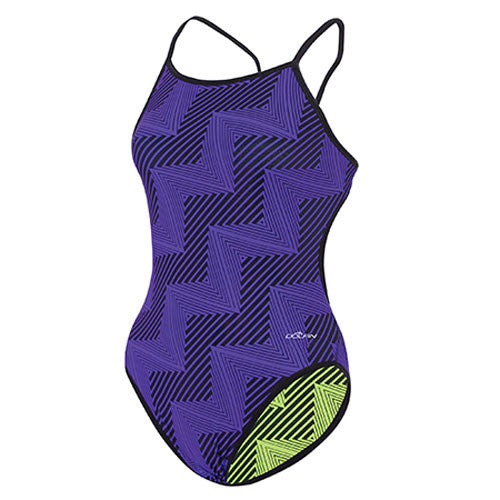 Dolfin Winners Reversibles String Back Flash Pur/Yel 26