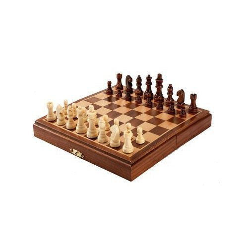 Hansen 8inch Magnetic Folding Chess