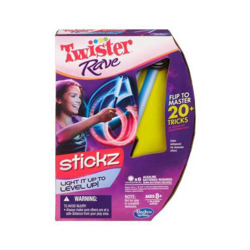 Hasbro Twister Rave Stickz