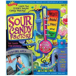 Science Explr Sour Candy Factory Kit