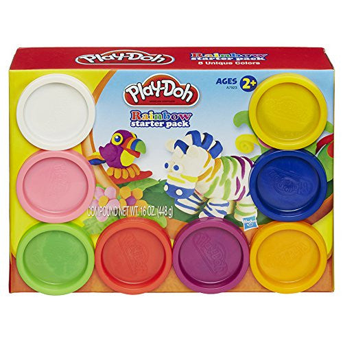 Play-Doh Rainbow Starter Pack 6pc