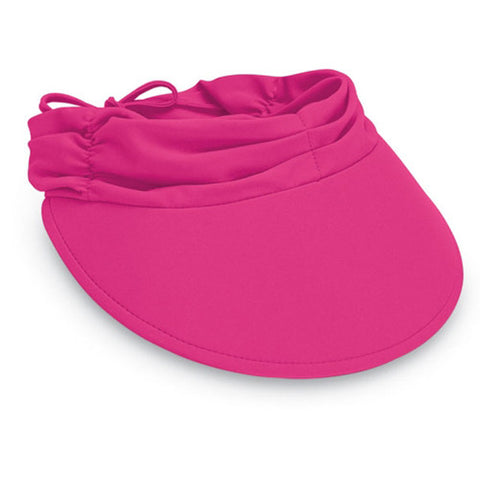 Wallaroo Aqua Visor Hot Pink