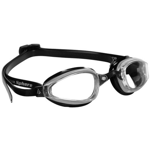 AquaSphere MP K180 Goggle Clear/Silver/Black