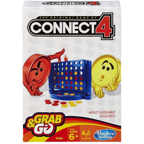 Hasbro Grab N Go Hasbro (Travel Games)| Connect 4