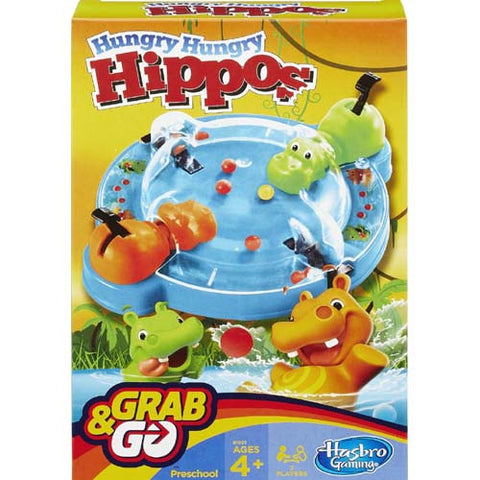 Hasbro Grab N Go Hasbro (Travel Games)| Hungry Hippos