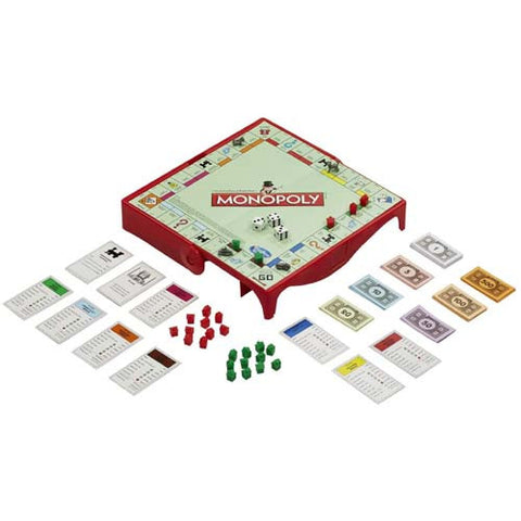Hasbro Grab N Go Hasbro (Travel Games)| Monopoly