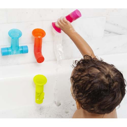 Boon Pipes Building Bath Toy Multicolor