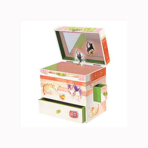 Enchantmints Curious Kittens Jewlery Box