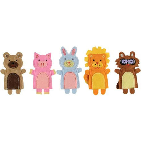CR Gibson Animal Friends Finger Puppets