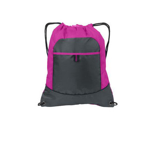 Port Authority Cinch Pack Rasberry