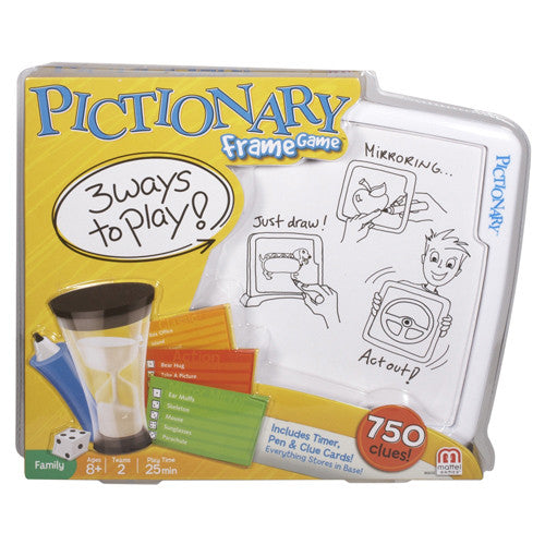 Mattel Pictionary Frame