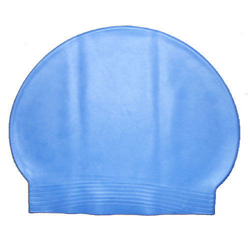 Bettertimes Latex Swim Cap Light Blue