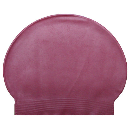 Bettertimes Latex Swim Cap Maroon