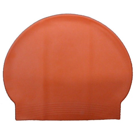 Bettertimes Latex Swim Cap Orange