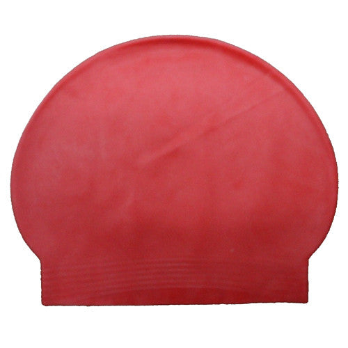 Bettertimes Latex Swim Cap Red