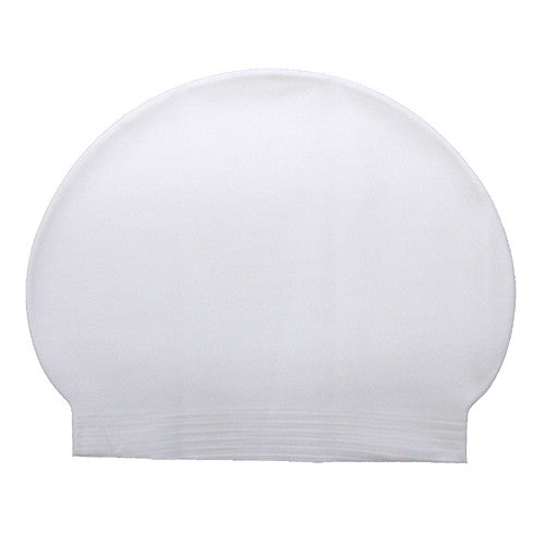 Bettertimes Latex Swim Cap White