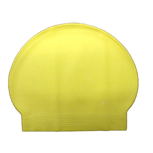 Bettertimes Latex Swim Cap Yellow